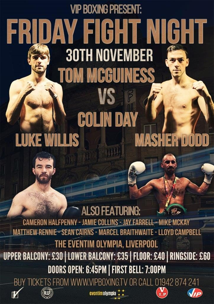 VIDEO – STAR AMATEUR DEBUTS ON LIVERPOOL OLYMPIA CARD