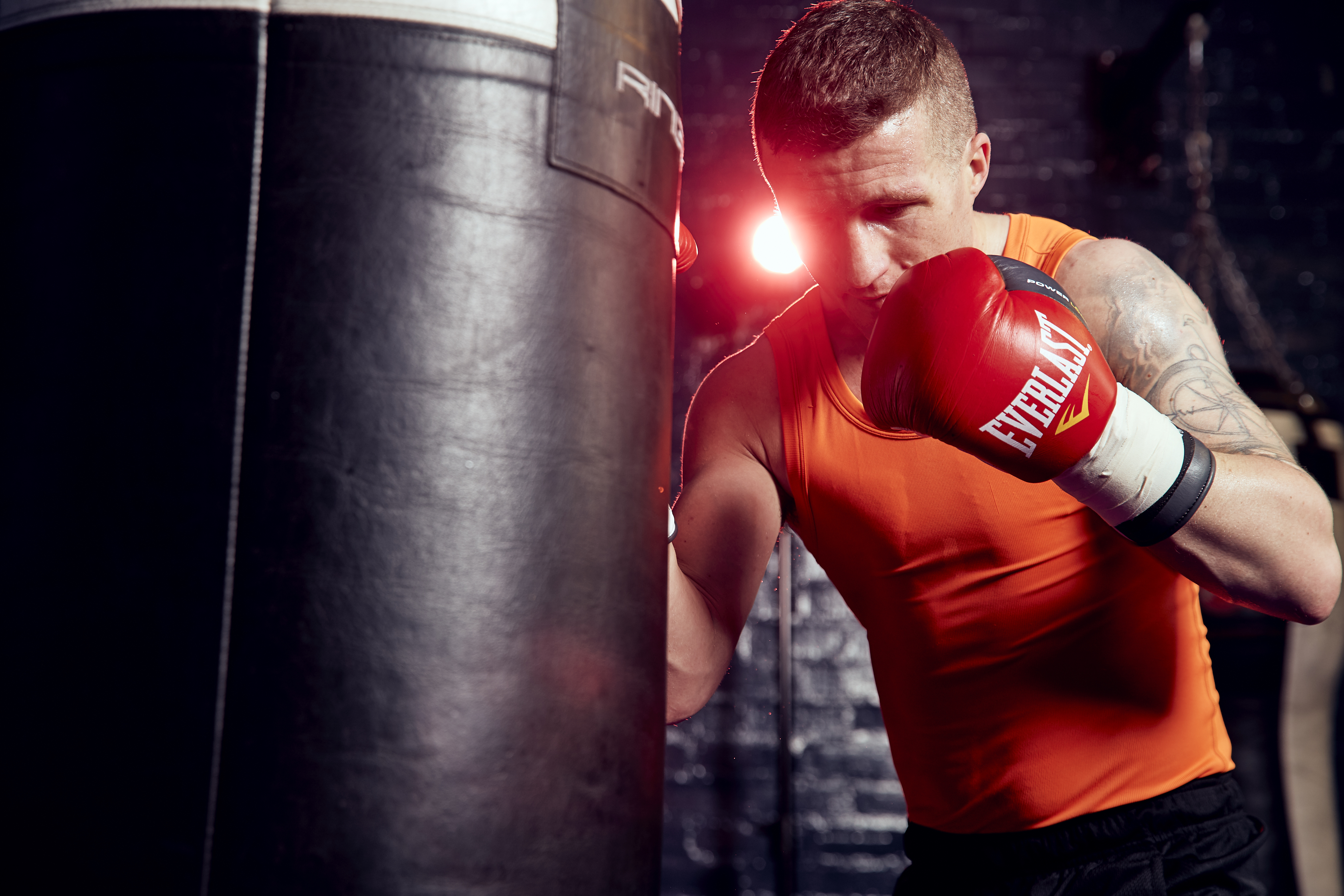 Shiv Naresh Teens Boxing Gloves 12oz: DAVIES JR: EVERY FIGHT IS MUST-WIN NOW
