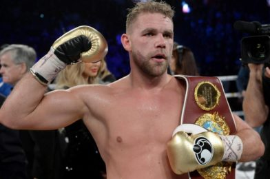 Billy Joe Saunders Suspended Over 'How to Beat Women' Video