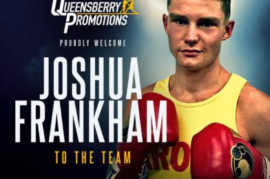 FURY'S COUSIN FRANKHAM SIGNS FOR QUEENSBERRY