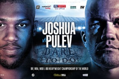 JOSHUA VS. PULEV POSTPONED