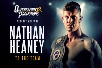 HEANEY JOINS THE QUEENSBERRY SQUAD