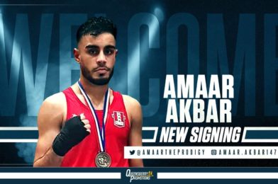 AMAAR AKBAR SIGNS FOR QUEENSBERRY PROMOTIONS