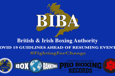 BIBA COVID-19 Guidelines ahead of Resuming Boxing Events