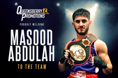 MASOOD ABDULAH SIGNS FOR QUEENSBERRY