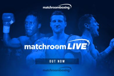 MATCHROOM LIVE AVAILABLE NOW!