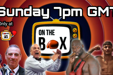 LIVE THIS SUNDAY: ON THE BOX SEASON 6 FINALE! FEATURING JAMES TONEY, JOE CORTEZ, GIANLUCA DI CARO & MICHAEL FAFERA…ONLY AT BOXING TV