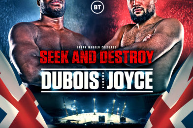 DUBOIS vs JOYCE BLOCKBUSTER TO TAKE PLACE ON OCTOBER 24