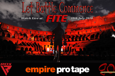 'LET BATTLE COMMENCE' TEN UK EVENT SERIES BEGINS 18TH JULY LIVE & EXCLUSIVE ON FITE TV