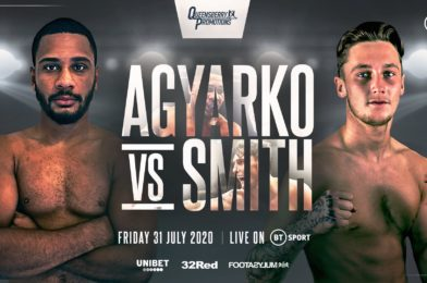 AGYARKO TAKES ON SMITH IN MIDDLEWEIGHT MAYHEM