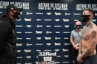 NEWS: WEIGH-IN RESULTS | ARTHUR vs SPELMAN | FRIDAY 31st JULY 7PM