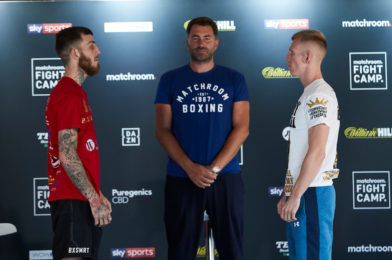 EGGINGTON VS. CHEESEMAN + UNDERCARD PRESS CONFERENCE QUOTES