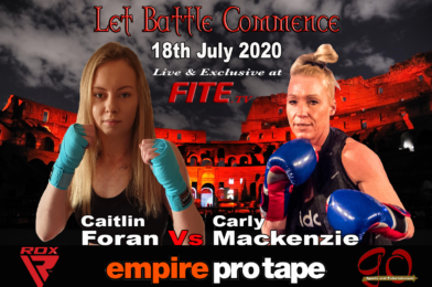 Boxing TV's Dan Hewitt Interviews Former Kickboxing World Champion Caitlin Foran Ahead of her Pro Boxing Debut on the 18th July
