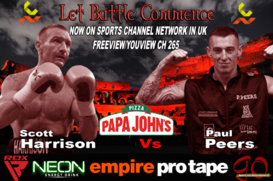 Scott Harrison Vs Paul Peers Headed Event Now Free to View in UK On Sports Channel Network (SCN) FreeView/YouView Ch 265