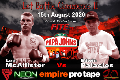 Arauz Injury Drama Forces August 1st LET BATTLE COMMENCE II to be Rescheduled to 15th August…with New Headline.