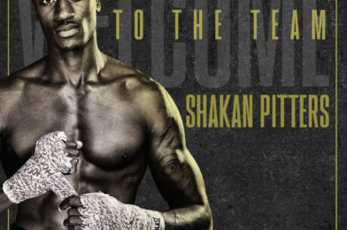 UNDEFEATED HOT-SHOT SHAKAN PITTERS SIGNS PROMOTIONAL DEAL WITH MICK HENNESSY
