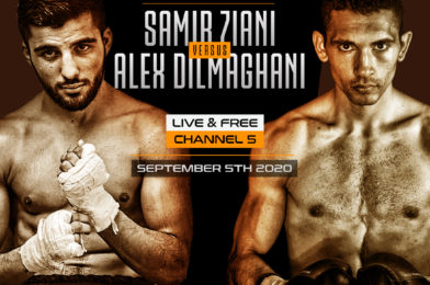 DILMAGHANI FOCUSED FOR RESCHEDULED EUROPEAN TITLE CHALLENGE AGAINST CHAMPION ZIANI ON SEPTEMBER 5