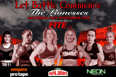 HISTORIC BRITISH ALL FEMALE PRO BOXING EVENT SET FOR 21ST NOV – LIVE ON FITE TV
