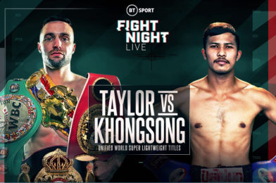 TAYLOR vs KHONGSONG PRESS CONFERENCE QUOTES