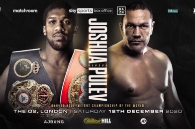 JOSHUA VS. PULEV CONFIRMED FOR DECEMBER 12