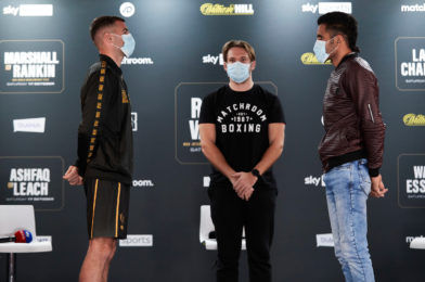 RITSON VS. VAZQUEZ + UNDERCARD PRESS CONFERENCE QUOTES