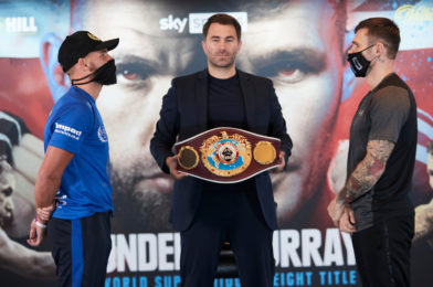 SAUNDERS VS. MURRAY + UNDERCARD PRESS CONFERENCE QUOTES