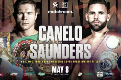 CANELO AND SAUNDERS MEET IN UNIFICATION CLASH ON MAY 8