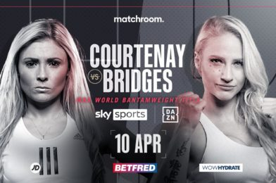 COURTENAY FACES BRIDGES FOR WBA BANTAMWEIGHT CROWN