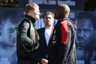 POVETKIN VS. WHYTE II PLUS UNDERCARD PRESS CONFERENCE QUOTES