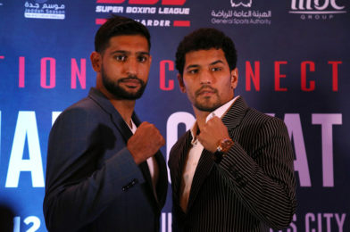 Indian Star Neeraj Goyat, who was set to fight Amir Khan in 2019, makes his UK Debut in Aberdeen on 29th May – Live on FITE TV