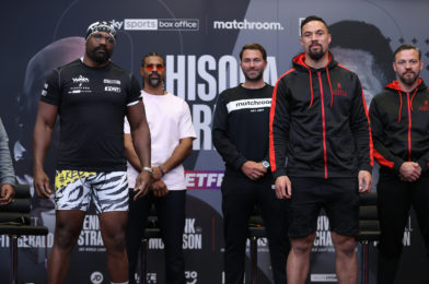 CHISORA VS. PARKER + UNDERCARD PRESS CONFERENCE QUOTES