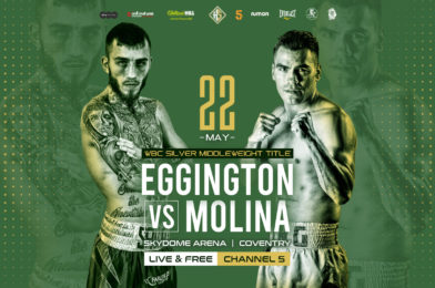 "MOLINA WARNS EGGINGTON ""YOU'RE FACING THE BEST KING CARLOS MOLINA"""