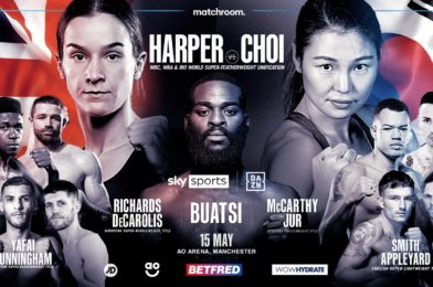 HARPER AND CHOI MEET IN SUPER-FEATHERWEIGHT UNIFICATION ON MAY 15