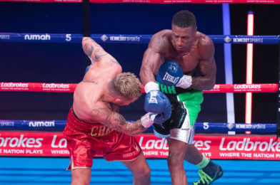 FORMER BRITISH CHAMP PITTERS BACKS RICHARDS IN WORLD TITLE CHALLENGE