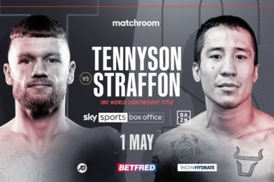 TENNYSON FACES STRAFFON FOR IBO LIGHTWEIGHT WORLD TITLE