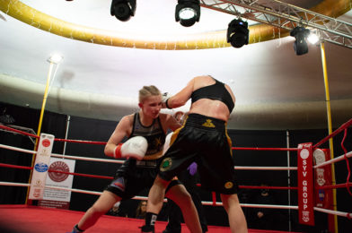 Rising Stars Scott, Towl and Hopewell Impressive on Saturday's Historic First UK All Female Pro Boxing Event.