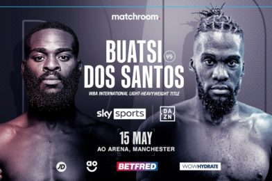 BUATSI MEETS DOS SANTOS ON MAY 15