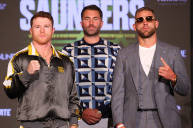 CANELO VS. SAUNDERS – QUOTES FROM FINAL PRESS CONFERENCE