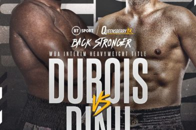 DUBOIS SETS SIGHTS ON DINU