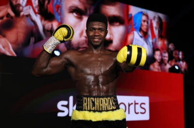 RICHARDS READY TO CONQUER EUROPE