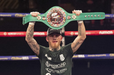 EGGINGTON CLAIMS WBC SILVER CROWN WITH VICTORY OVER MOLINA