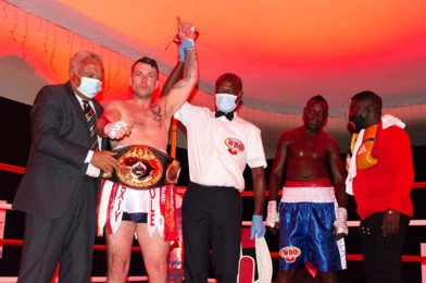 McAllister KOs Djarbeng to Finally Add a WBO Title To His Collection of Championship Accolades