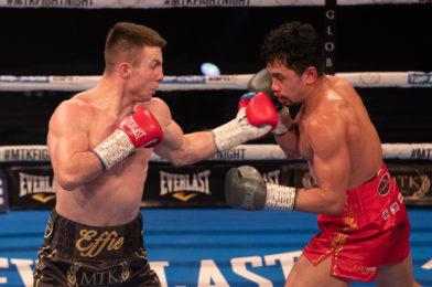 Pierce O'Leary faces hard-hitting Jan Marsalek on Friday's MTK Fight Night