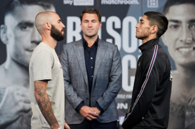RITSON VS. PONCE PRESS CONFERENCE QUOTES