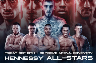 HENNESSY ALL STARS IN ACTION AT THE COVENTRY SKYDOME ARENA ON ONE HUGE NIGHT!