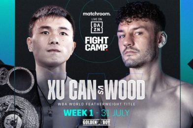 WOOD LANDS DREAM WORLD TITLE SHOT AGAINST CAN AT FIGHT CAMP