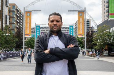 Joyce visits Wembley ahead of Takam Showdown on July 24th