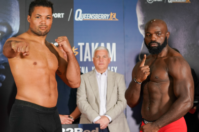 JOYCE Vs TAKAM OFFICIAL WEIGH-IN RESULTS