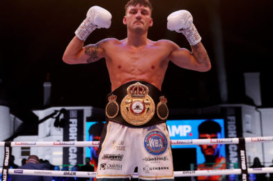 WOOD STOPS XU CAN IN 12TH TO SECURE WBA FEATHERWEIGHT WORLD CROWN