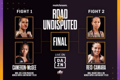 THE ROAD TO UNDISPUTED: WOMEN'S 140LBS CROWN UP FOR GRABS IN FOUR WAY SHOWDOWN